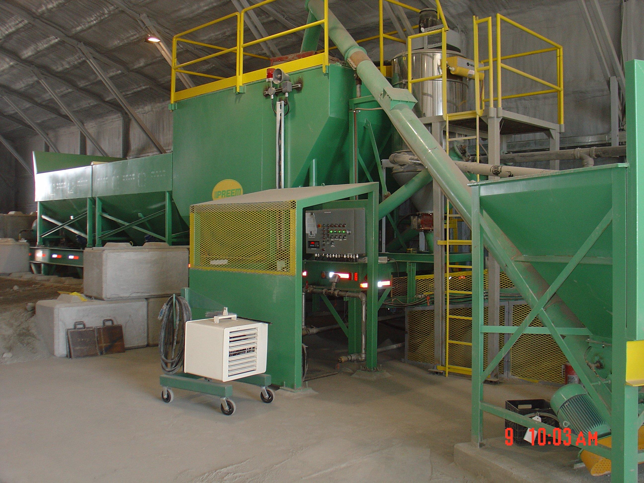 BHP Concrete Batch Plant Operation