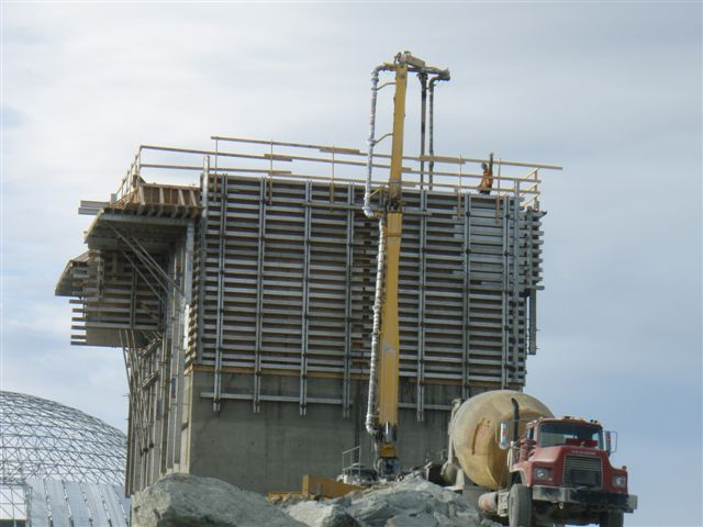 Meadowbank Gold Mine Construction