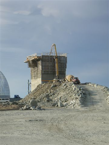 Meadowbank Mine Construction